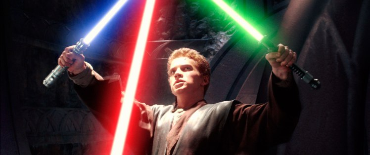 STAR WARS: EPISODE II-ATTACK OF THE CLONES, Hayden Christensen, 2002. TM and ©copyright Twentieth Ce